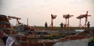 Air India Express damage wall