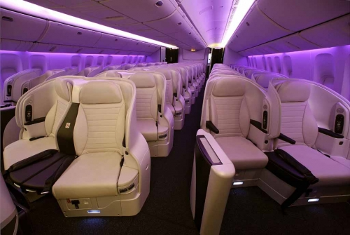 International Spaceseat on the 777-300 (Premium Economy)  Picture: Air new Zealand