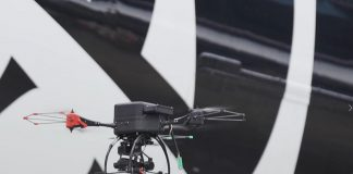 Air New Zealand drones inspect aircraft