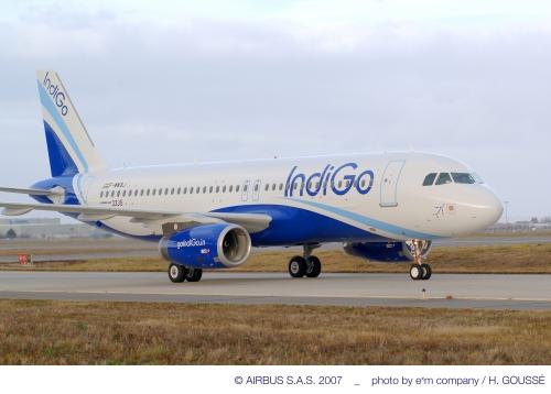 IndiGo A320 aircraft  Picture: Airbus/H Gousse