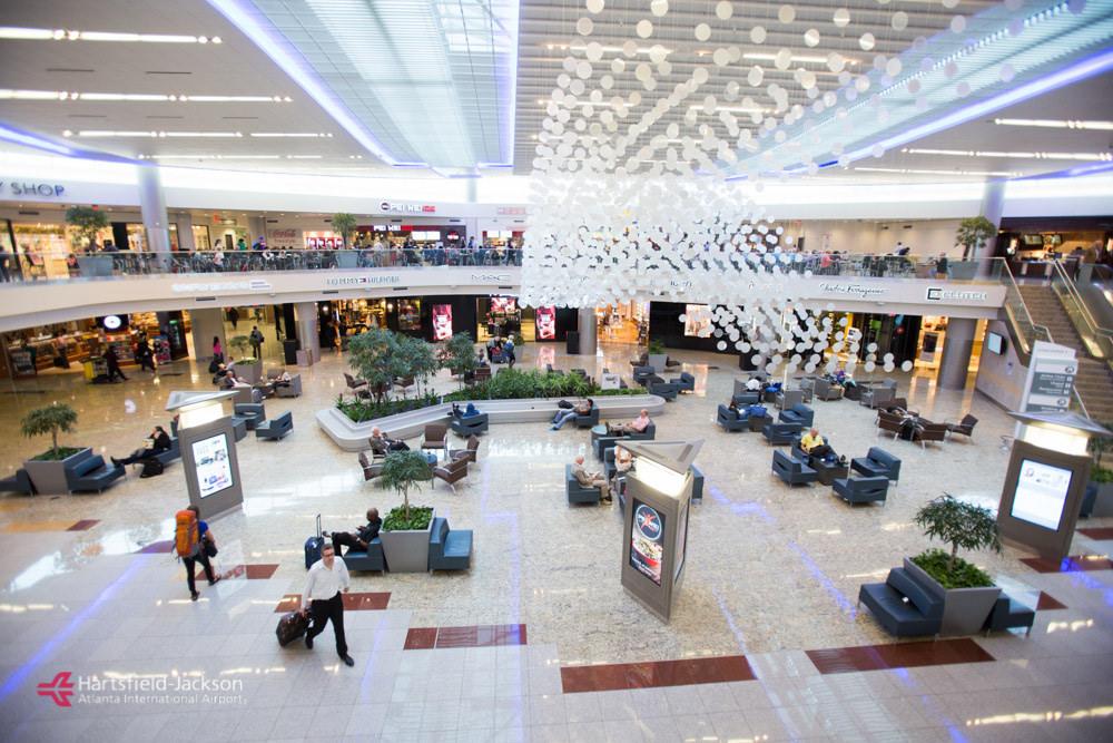 Atlanta airport world's biggest