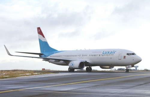 Luxair 737-800  Picture: Luxair