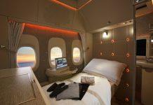 emirates new B777 first class