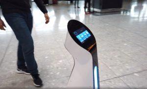 Robots British Airways terminal 5