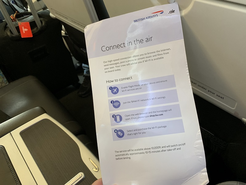 British Airways business class still sub-par in Europe - Airline Ratings