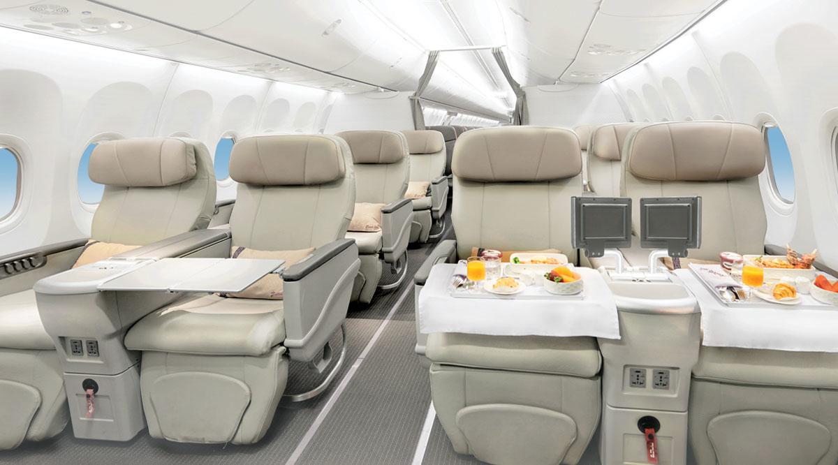 Batik Air business class