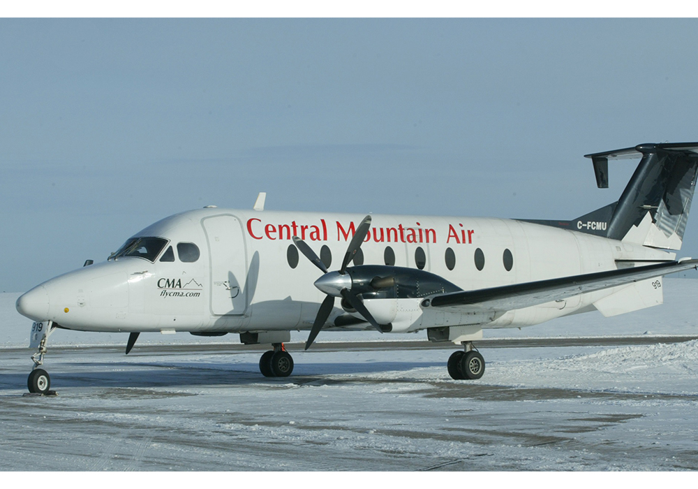 Central Mountain Air 1900D Aircraft