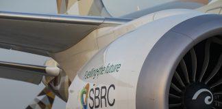 Etihad biofuel slat trial