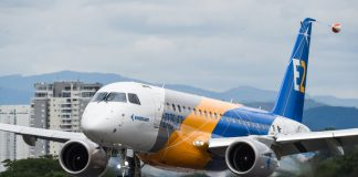 Embraer E175-E2 inaugural flight