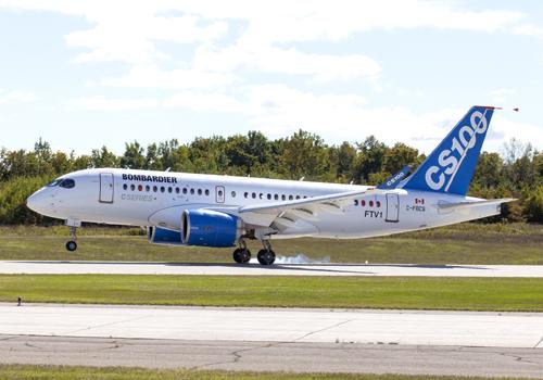 Airbus Bombardier C Series partnership