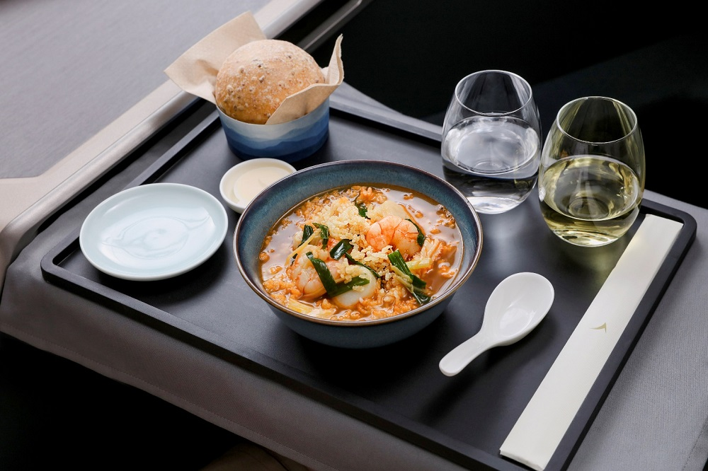 cathay pacific new menu Hong kong