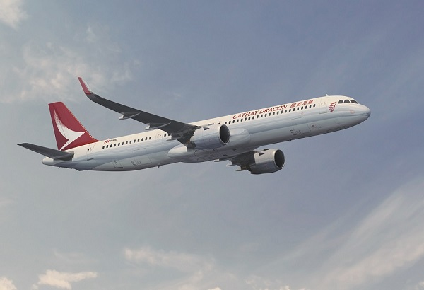 cathay dragon A321neo