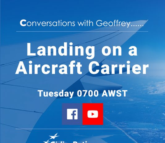 Conversations with Geoffrey - Aircraft Carrier
