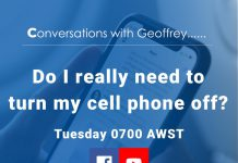 Conversations with Geoffrey - Cell Phone Off