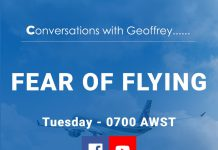 Conversations with Geoffrey - Fear of Flying