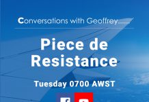 Conversations with Geoffrey - Piece de Resistance