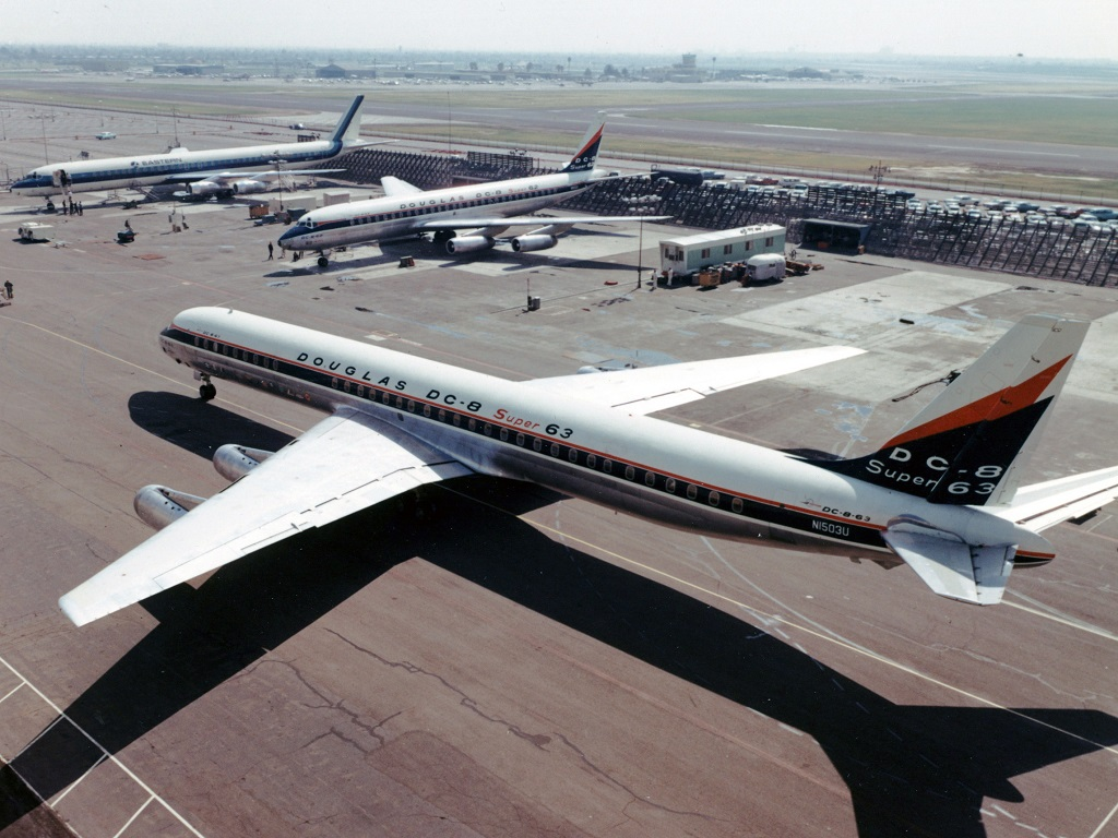 Douglas stretched the DC-8 to give it a new lease of life