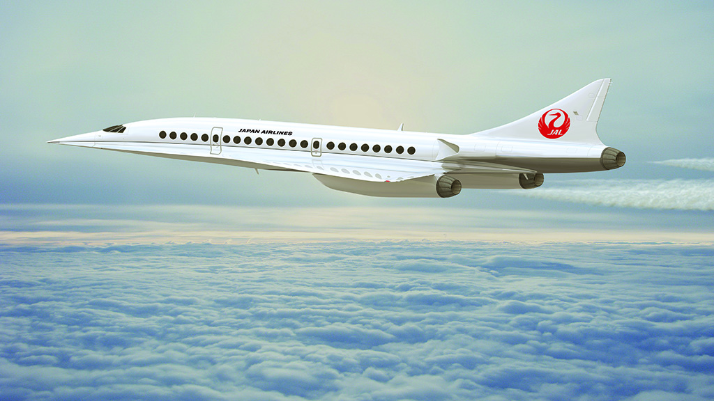 Japan Airlines Boom supersonic aircraft