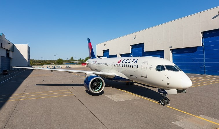A220 Delta Airbus extended range