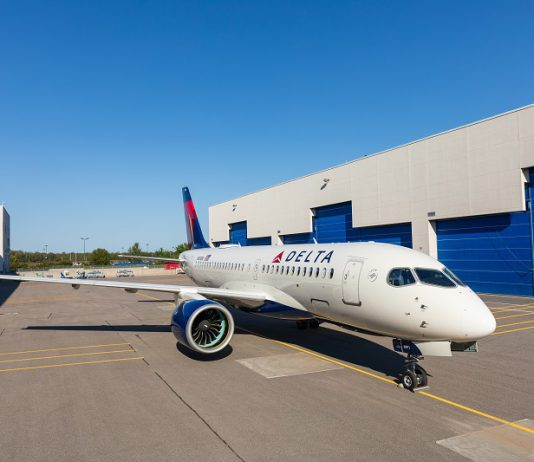 Delta A220 Airbus record deliveries