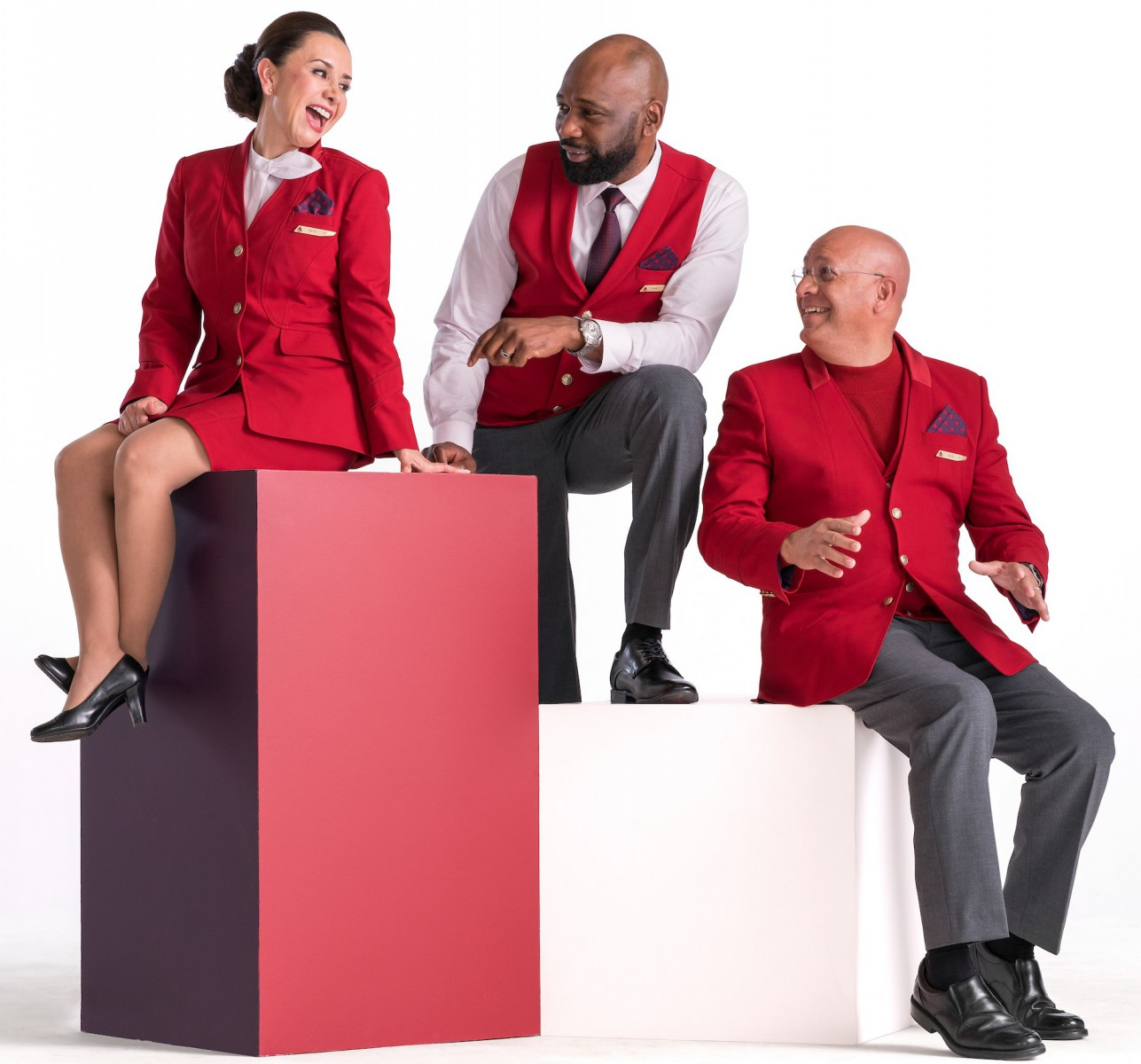 Delta logistsics change uniforms new
