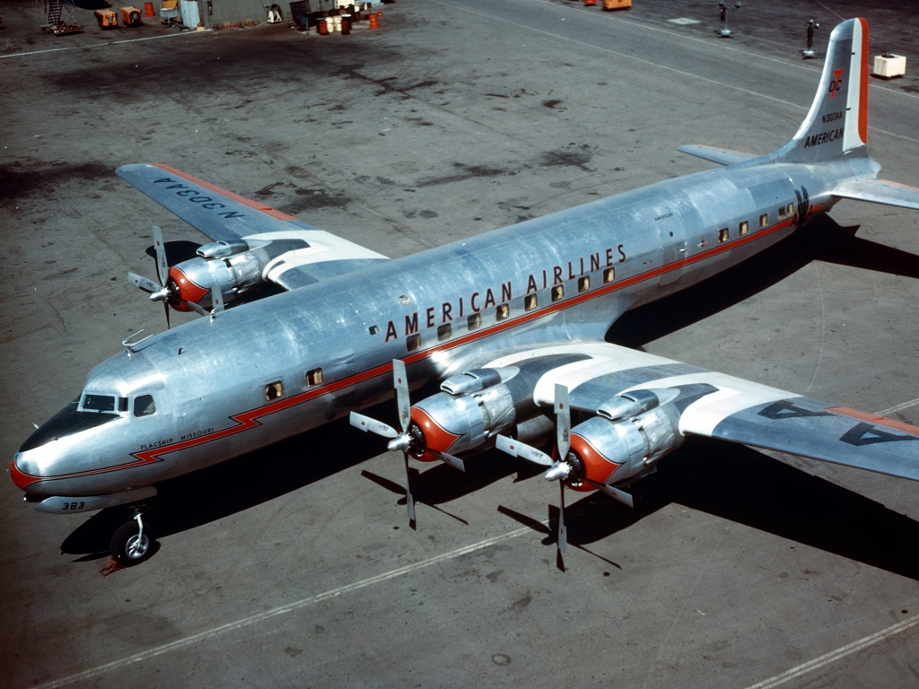 American Airlines ordered the DC-7 in 1952