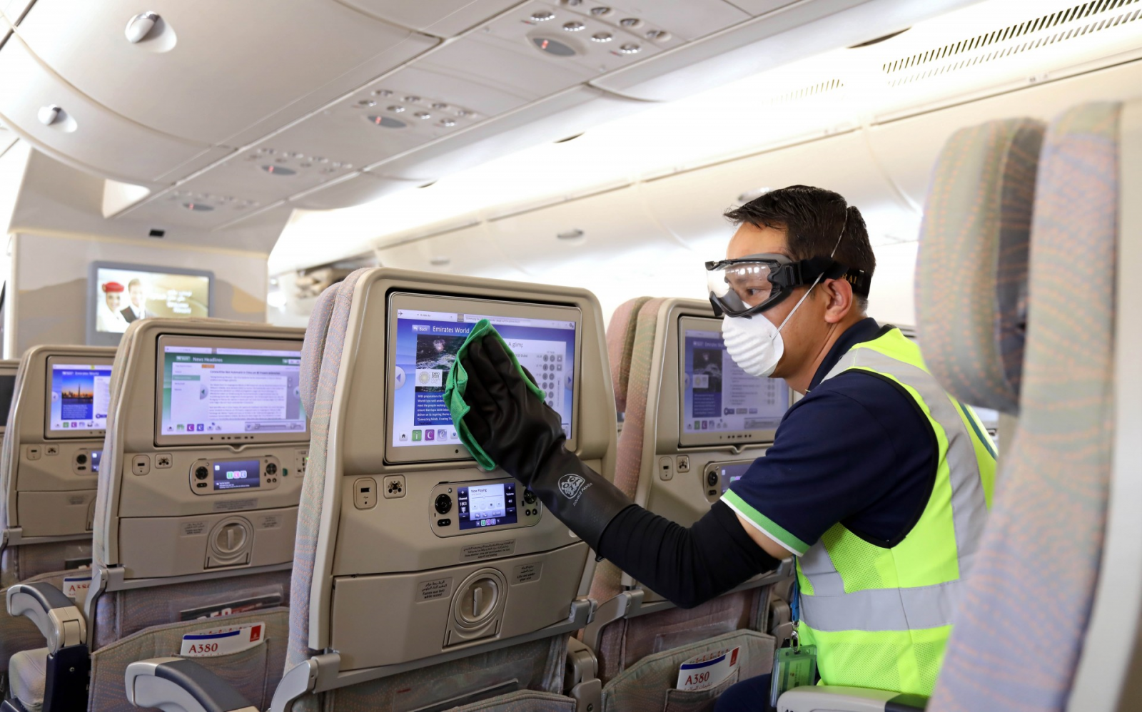 Emirates introduces complete disinfection of all cabins - Airline ...