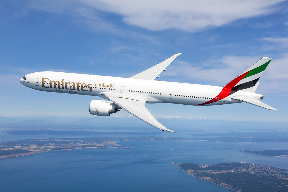 Emirates Boeing 777 new first class