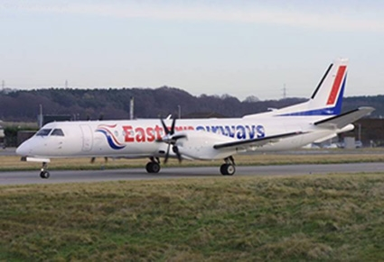 SAAB 2000 Picture:  Eastern Airways