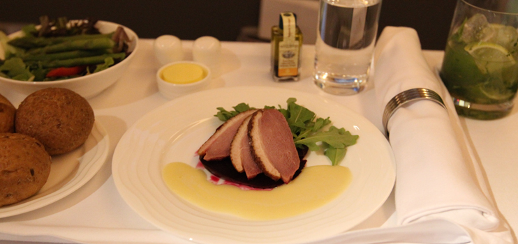 Emirates Business Class Food Emirates First Class F...