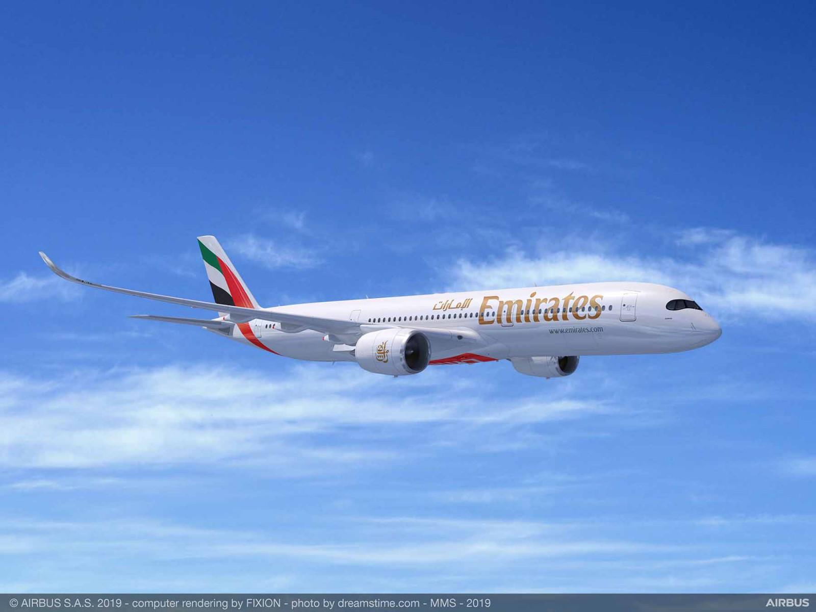 Airbus Emirates A350