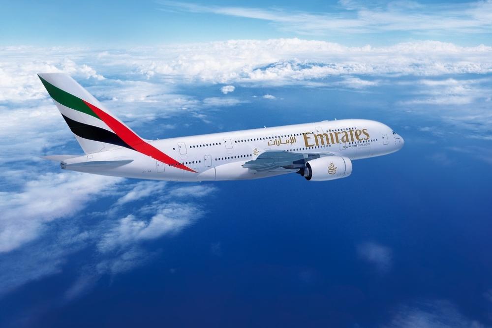 Emirates New Zealand A380 Qantas