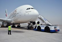 Emirates profit slump