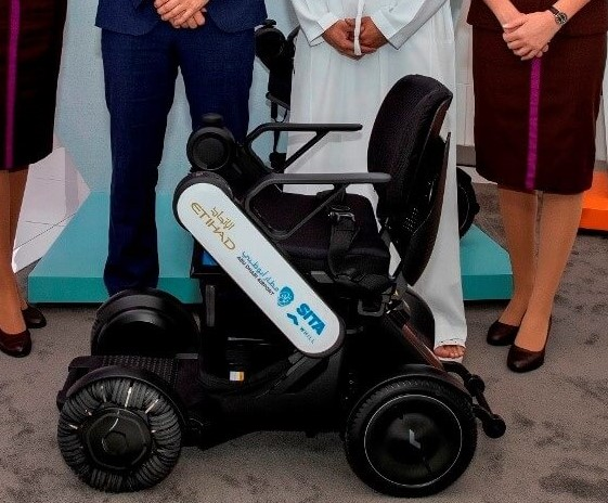 wheelchair Etihad