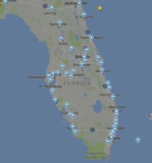 Florida Airports are closed Hurrican Irma