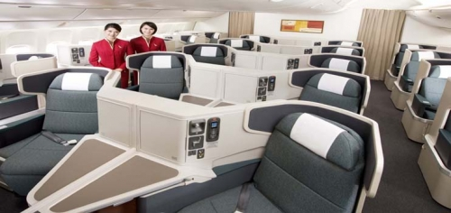 Business Class Picture: Cathay Pacific