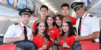 VietJet Air pilots and cabin crew
