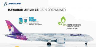 Hawaiian Airlines 787 info graphic
