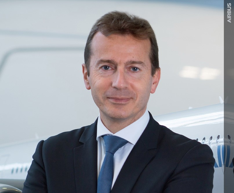 Airbus CEo announcment Faury