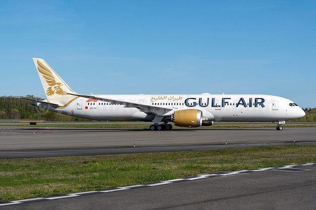 Gulf Air 787 Dreamliner
