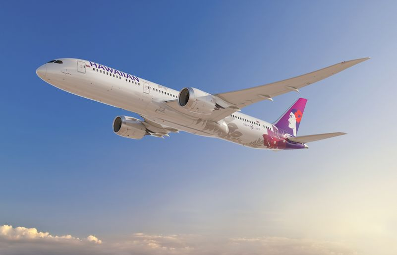 Hawaiian chooses Boeing 787-9s as future flagship
