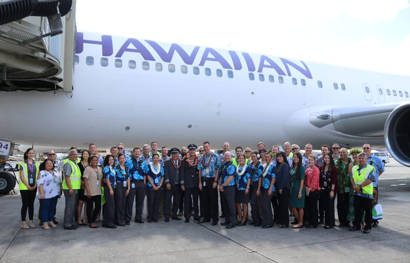hawaiian farewells 767