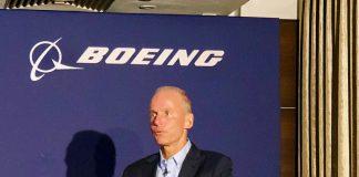 Boeing chief Dennis Mulinberg