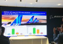 Boeing's Randy Tinseth presents market forecast