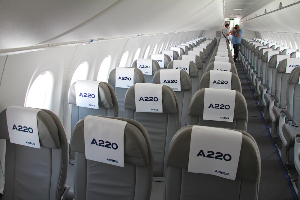 Passengers will love the A220