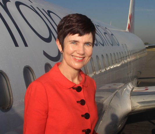 Merren McArthur is the new CEO of Tigerair Australia