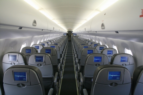 JetBlue in flight entertainment  Picture: JetBlue