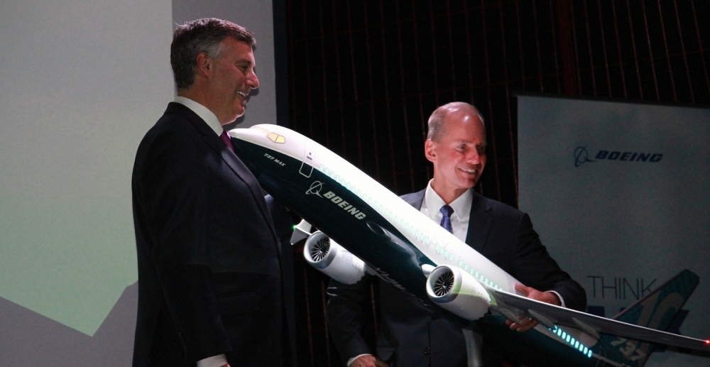Boeing Muilenburg efends safety