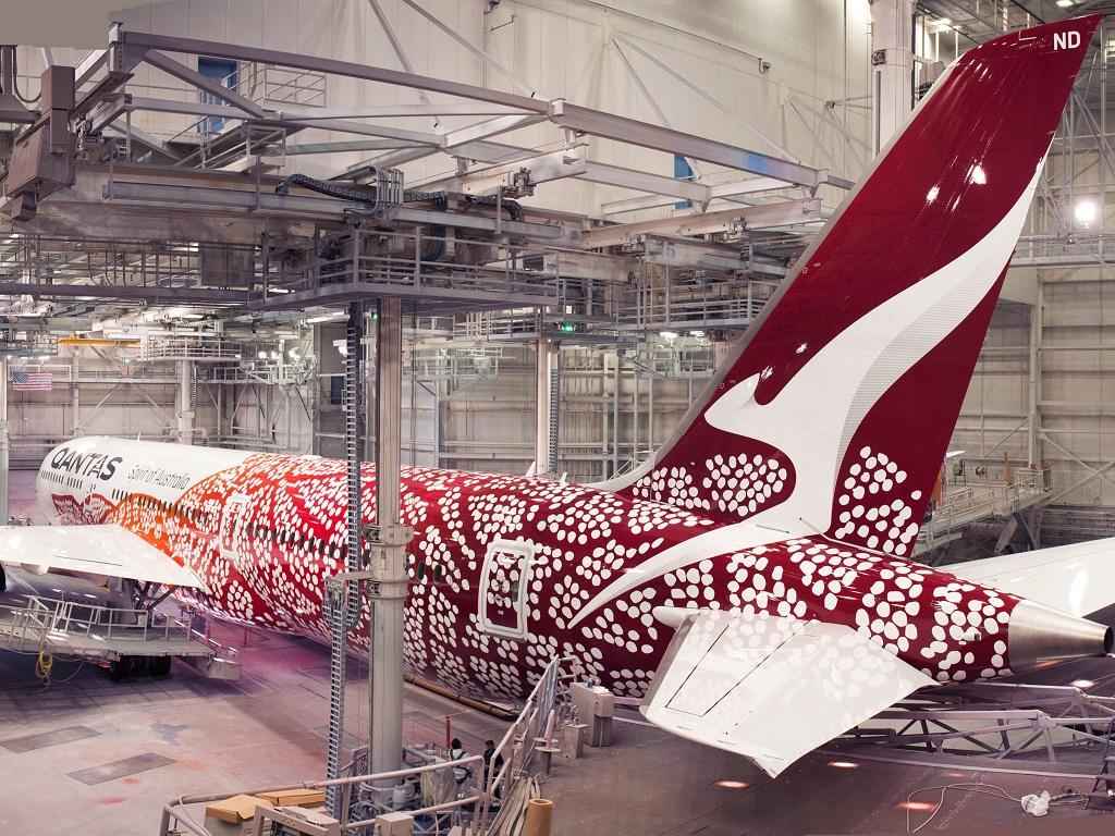 Qantas indigenous livery