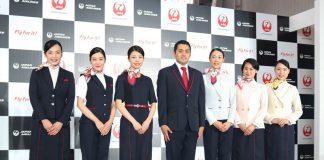 Japan Airlines uniforms